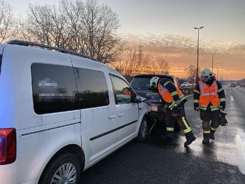 Einsatzfoto Verkehrsunfall A22