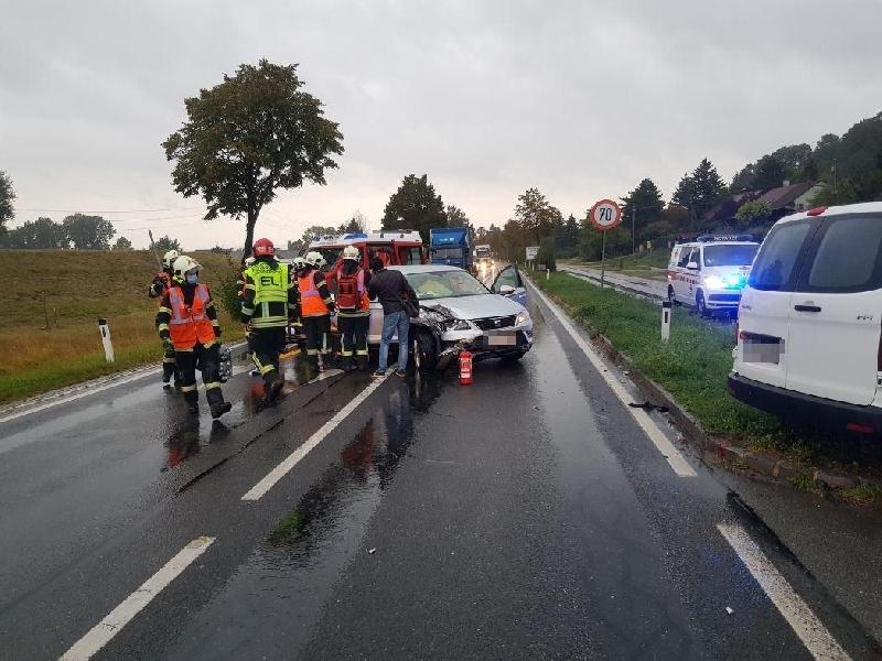Einsatzfoto Verkehrsunfall B3