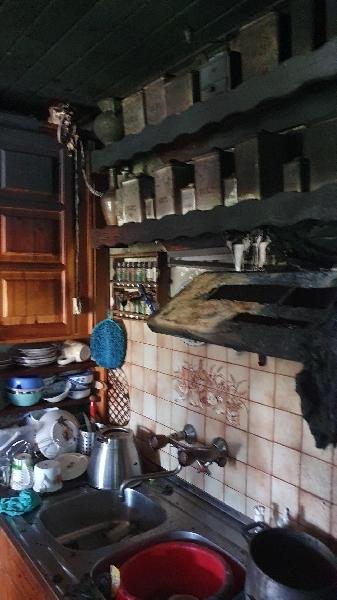 Einsatzfoto Kontrolle nach Küchenbrand mittels Wärmebildkamera