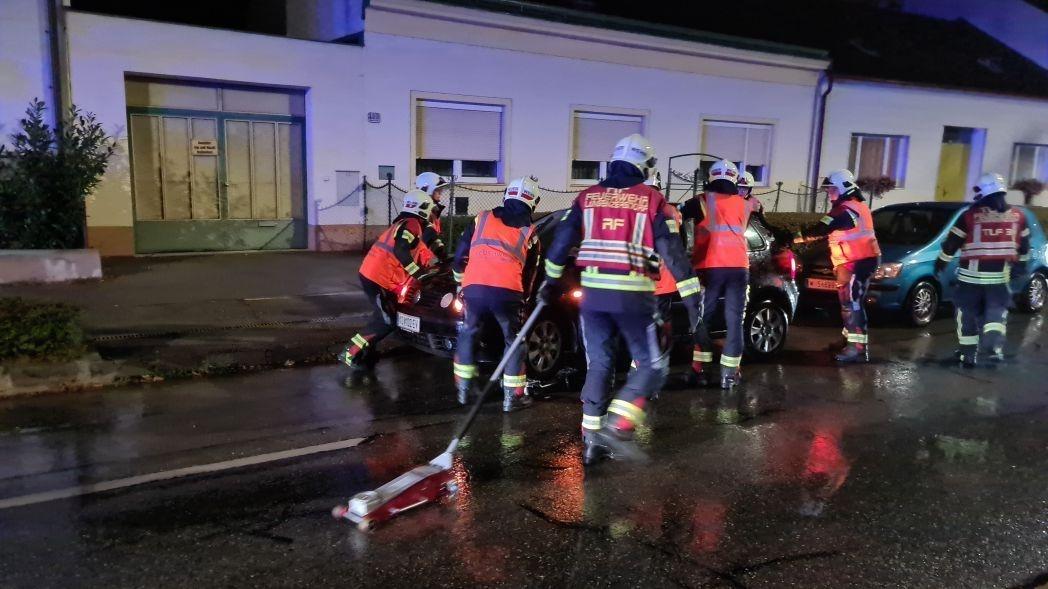 Einsatzfoto Verkehrsunfall Wienerstraße